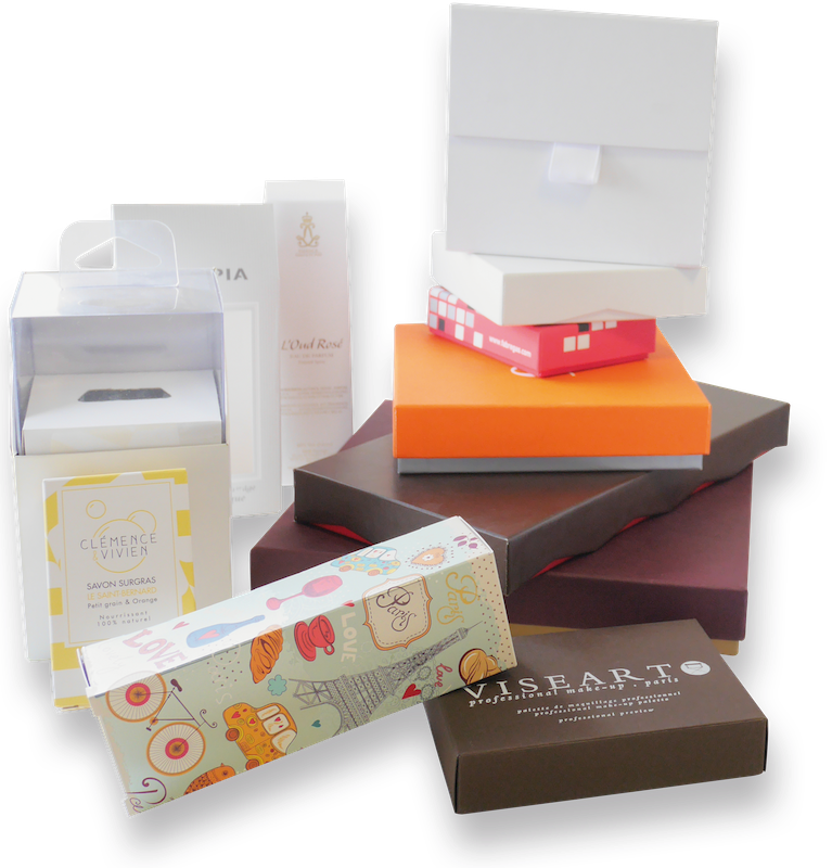 Packaging : boites, étuis, sur-mesure